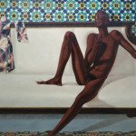 "Barkley L. Hendricks', ""NNN (No Naked Niggahs)"", 1974"