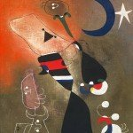 "Joan Miro, ""Women and Bird in the Moonlight"", 1949"